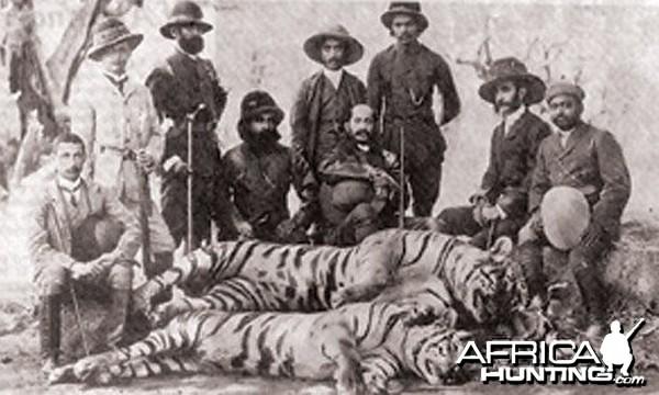 Sher shikar, Tiger hunt in Kerala, India