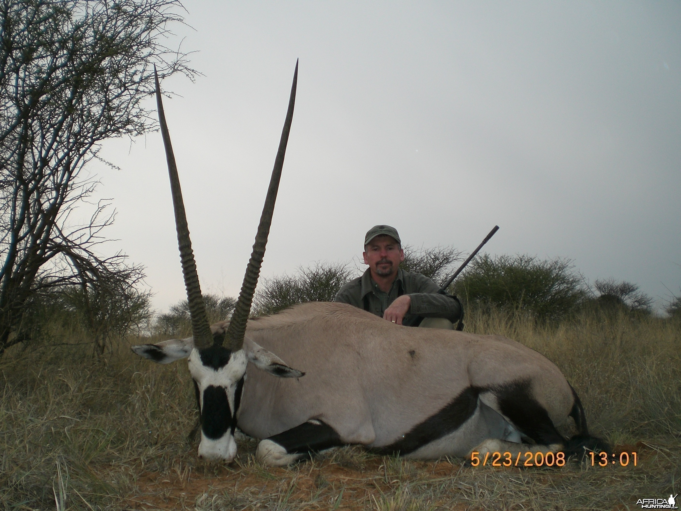 Gemsbok hunt in Northwest Province SA
