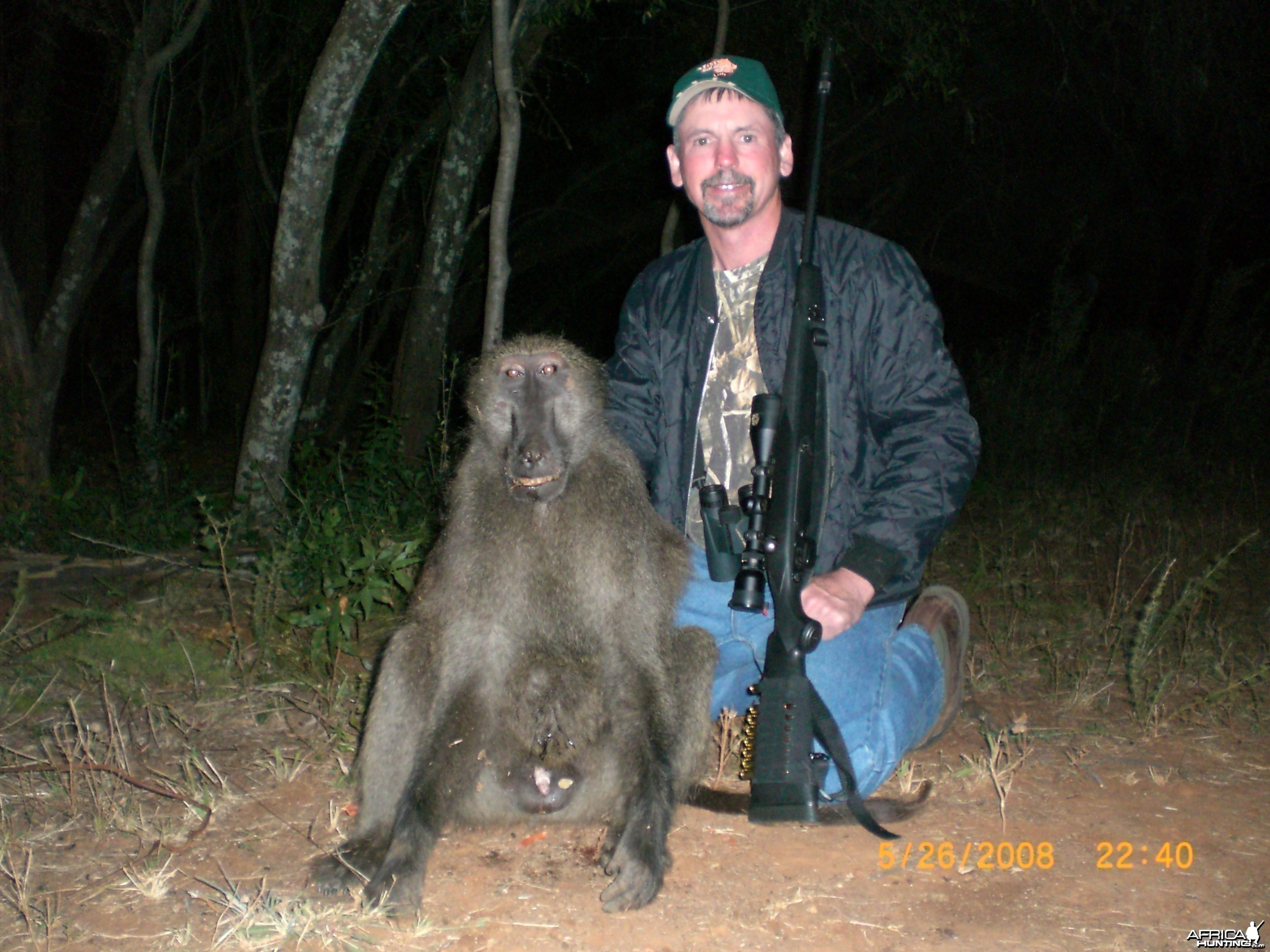 Babboon hunt in Northwest Province SA