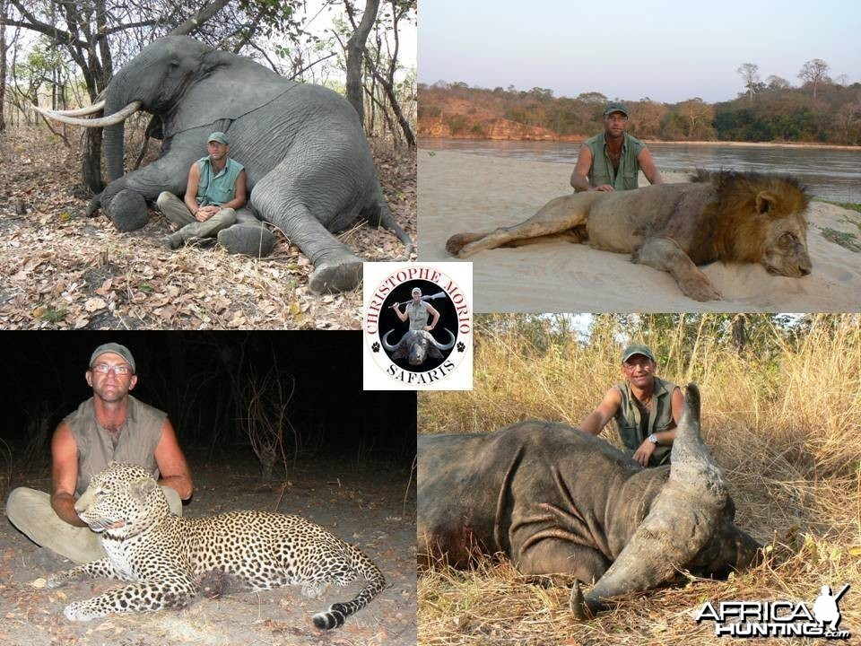 Big four from Tanzania