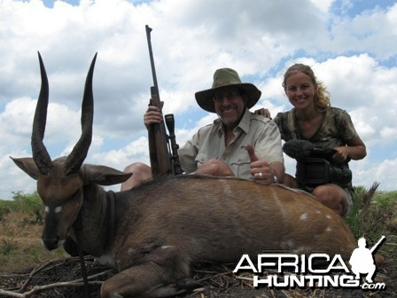 Chobe Bushbuck that was shot in Mozambique