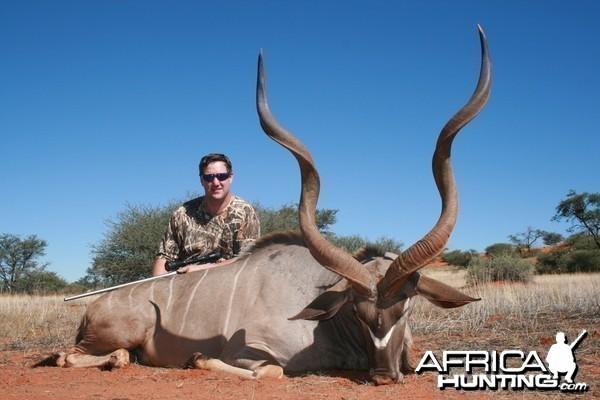 Kudu hunt in Namibia