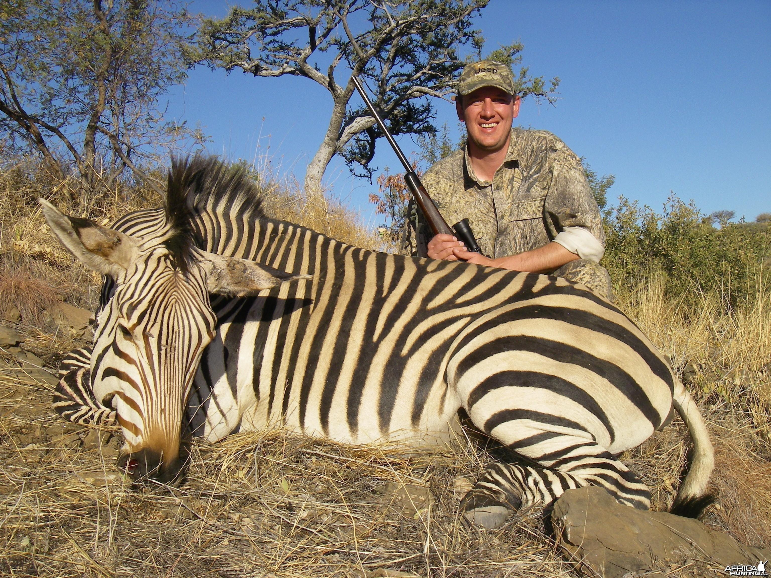 Hartmann's Mountain Zebra Hunt