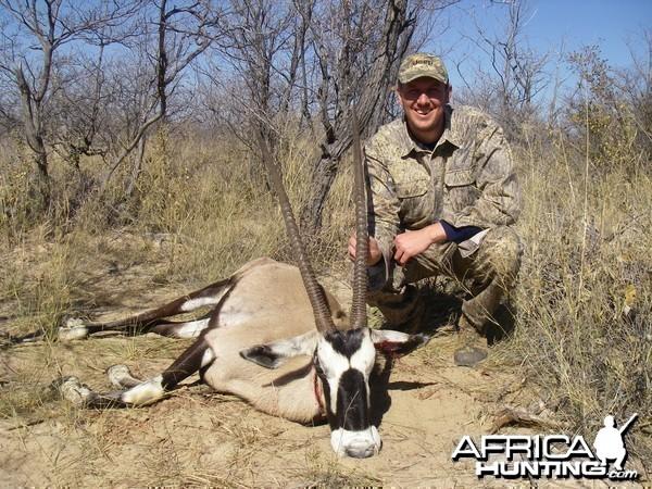 Gemsbok Hunt