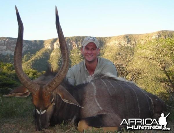 Hunting Nyala South Africa