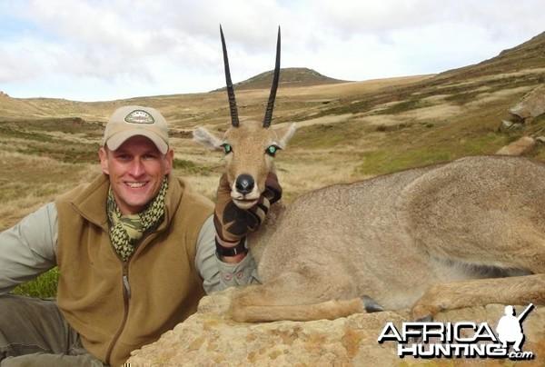 Hunting Vaal Rhebok South Africa