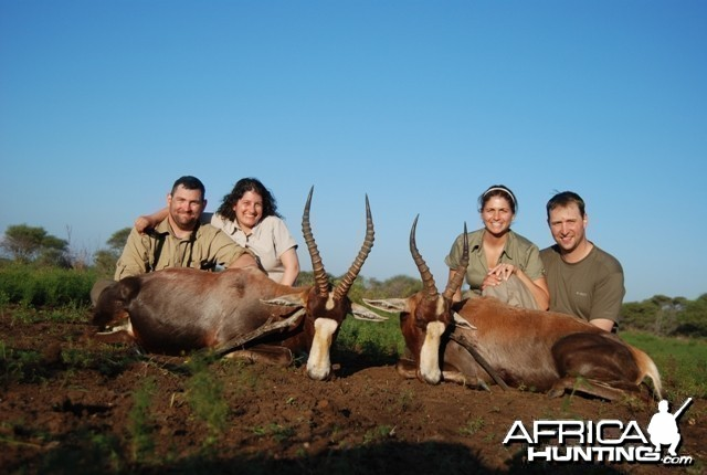 Blesbok hunt in Limpopo RSA - 18 inches