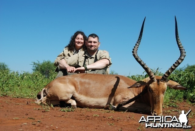 Impala hunt in Limpopo RSA