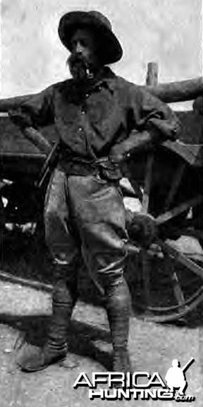 R.J. Cunninghame in 1909