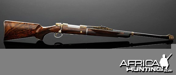 Custom rifle by Swedish gun and rifle maker VO Vapen