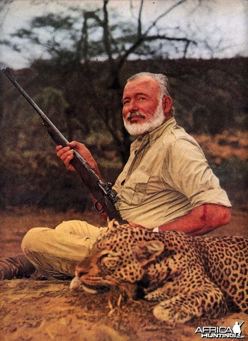 Hemingway Writes On Africa, LOOK magazine, January 26, 1954