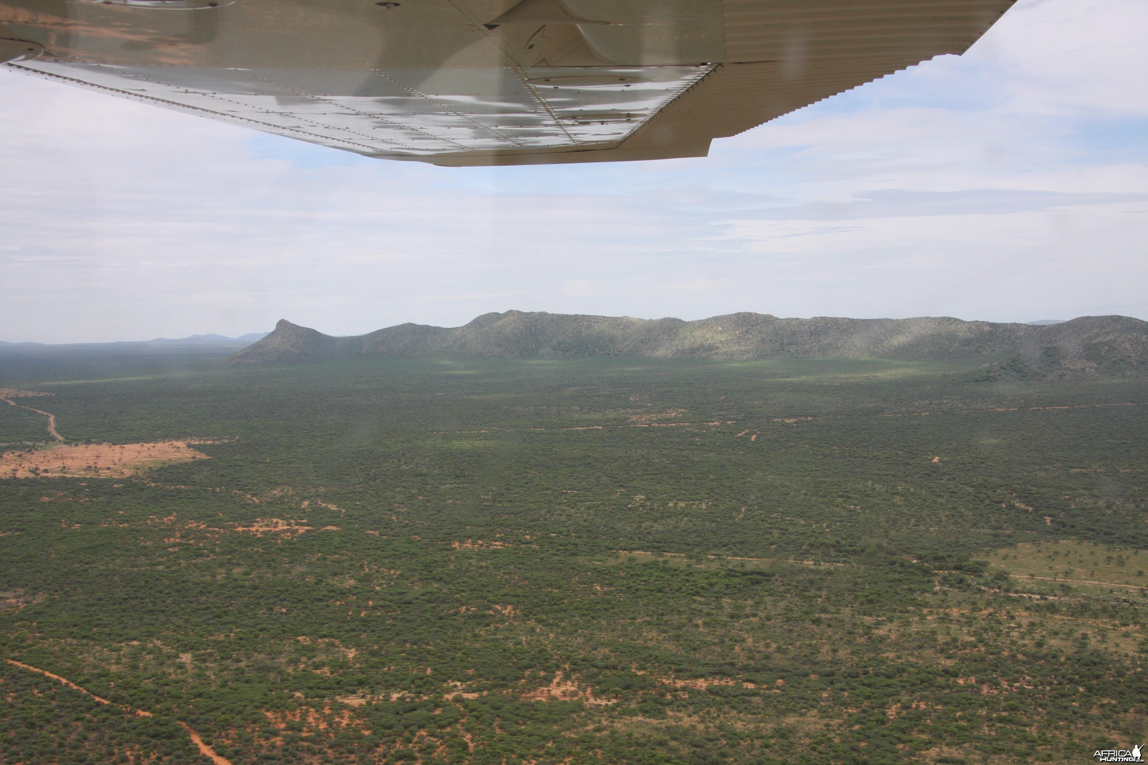 Ozondjahe landscape Namibia