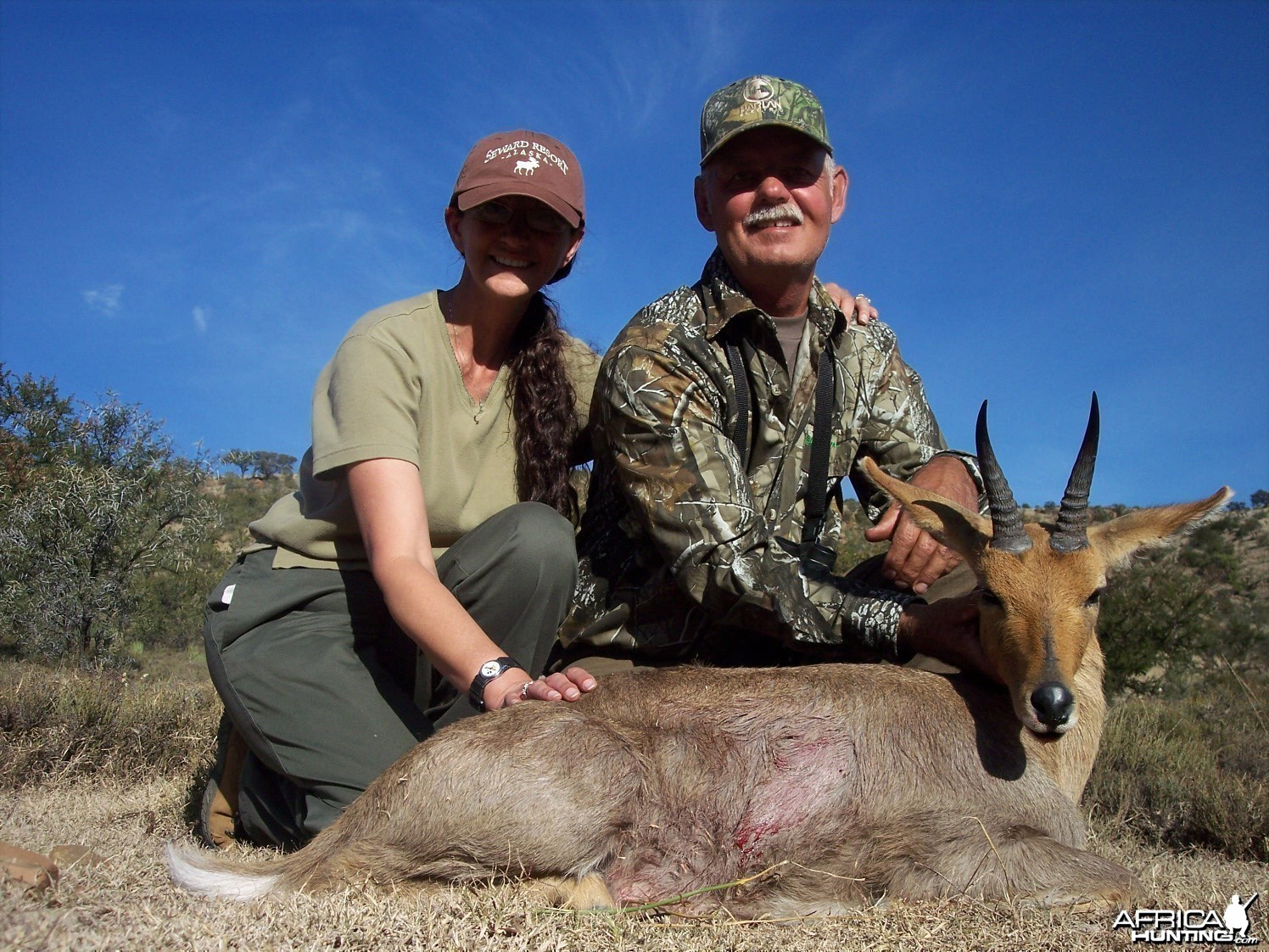 Mountain Reedbuck Hunt East Cape South Africa