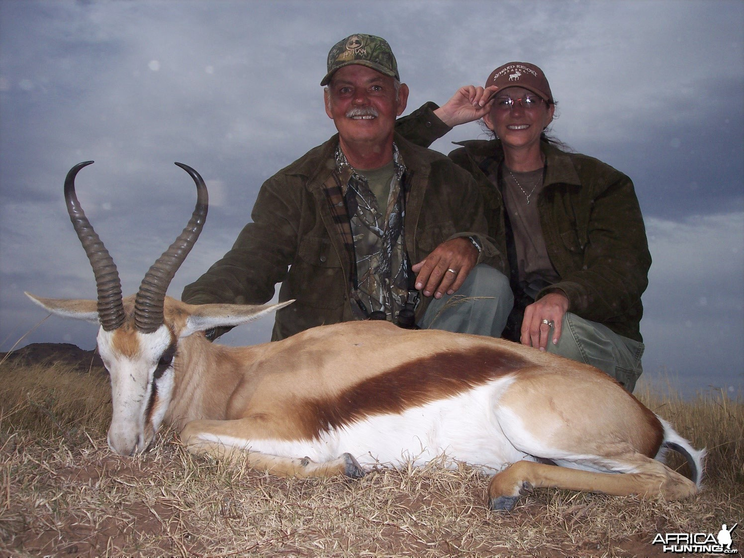 Springbok Hunt East Cape South Africa