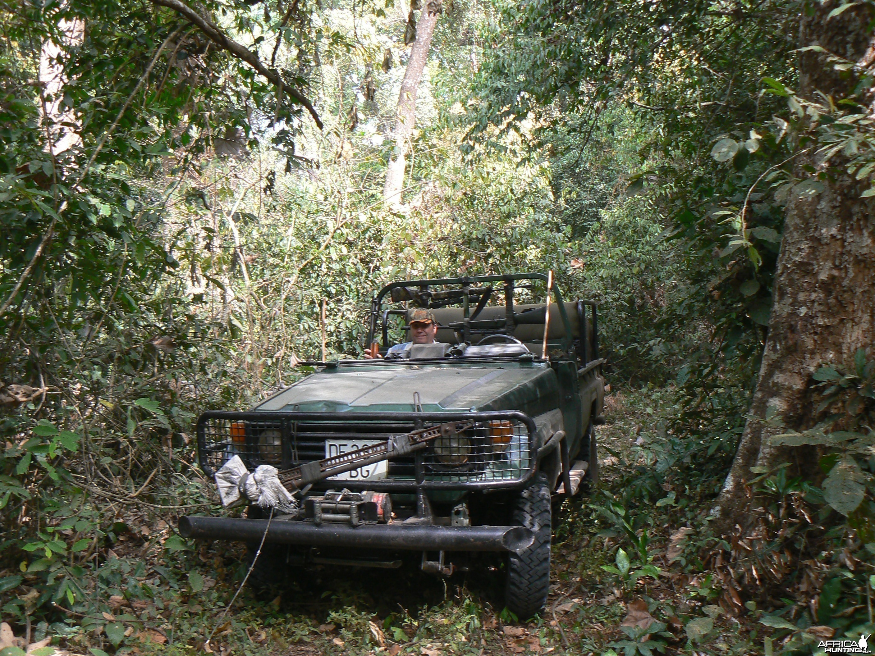 Hunting vehicle CAR