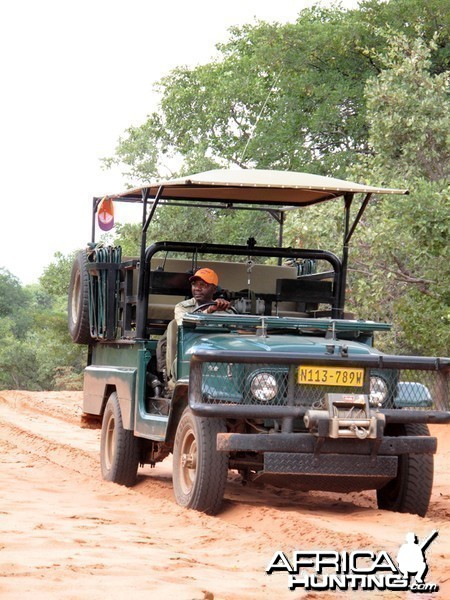 Hunting vehicle