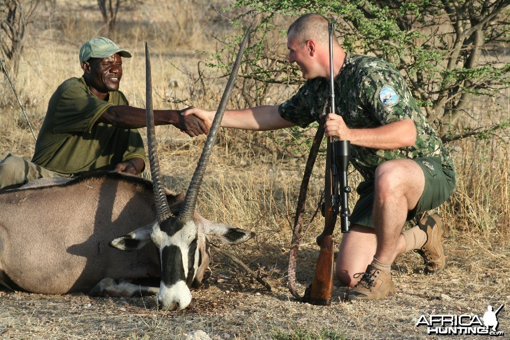 Namibia Asif Ilyasov hunt
