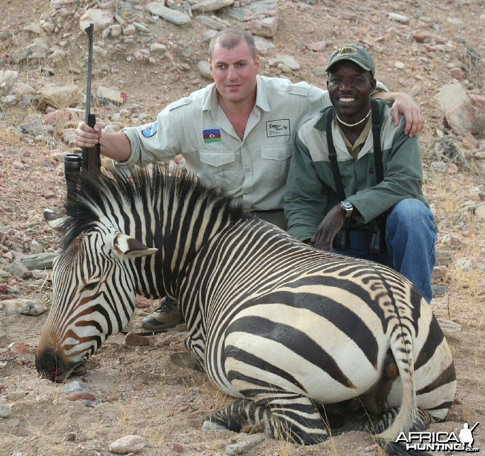 Zebra Asif Ilyasov Namibia