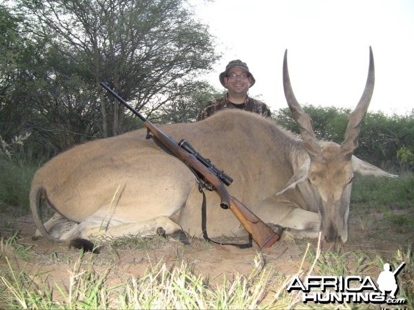 Hunting Safari in Limpopo, South Africa - Eland