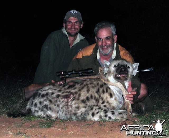 Hunting Hyena South Africa
