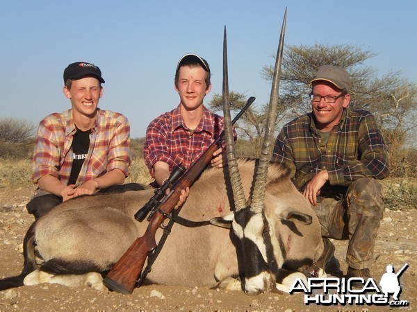 The Franklin Trio with Martins Oryx
