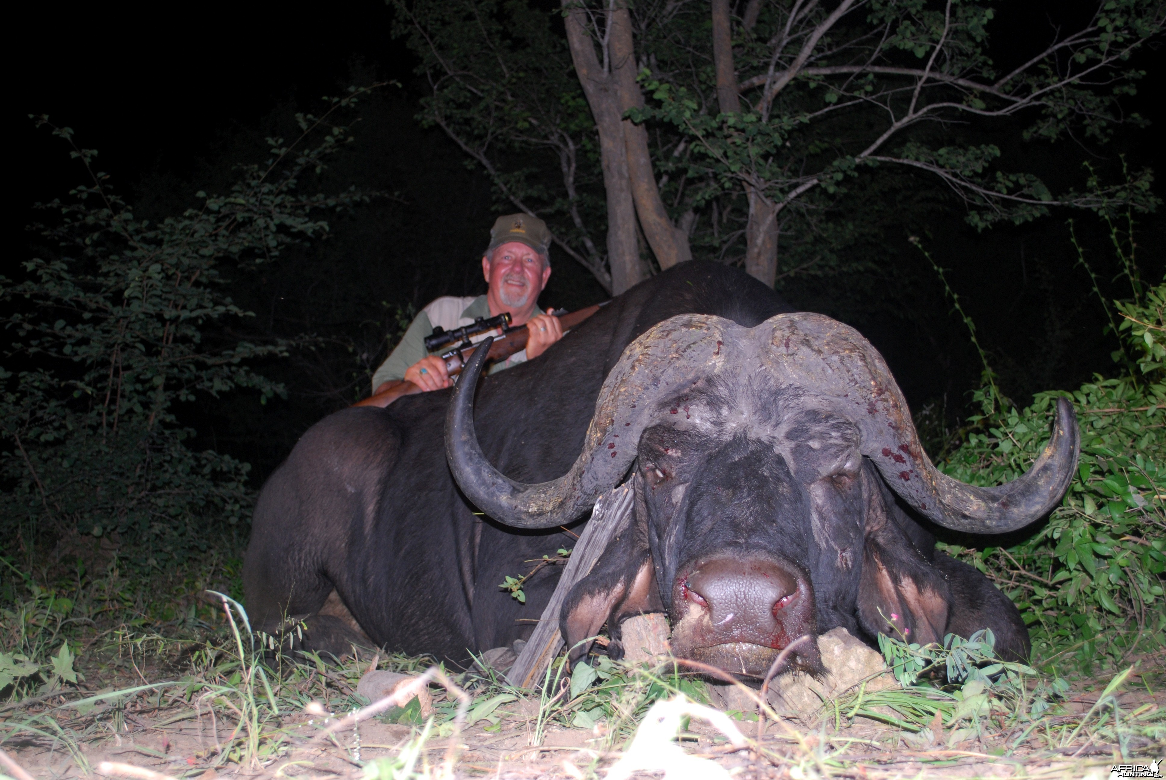 Old Boy hunted in Mozambique