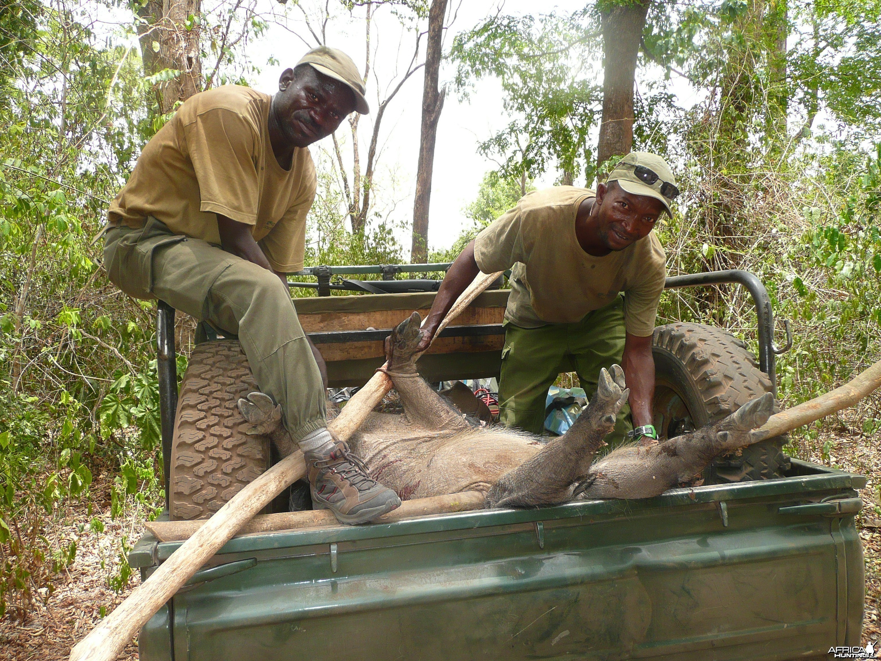 Hunting Central African Republic CAR