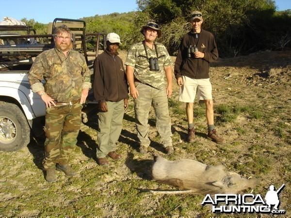 Nduna Crew with Warthog