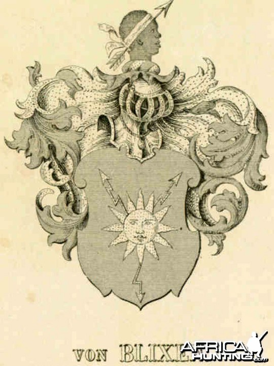 Baron Bror von Blixen-Finecke Coat of Arms