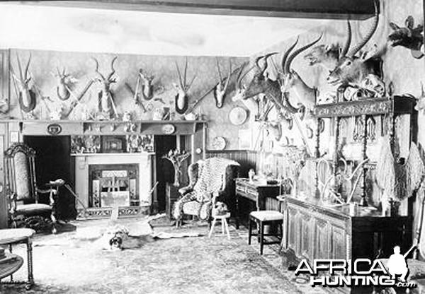 Philip Hope Percival Trophy Room