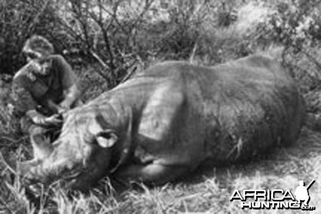 Finn Aagaard, A Great Hunter with Rhino