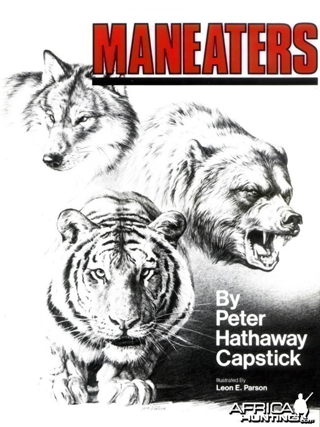 Maneaters by Peter H. Capstick