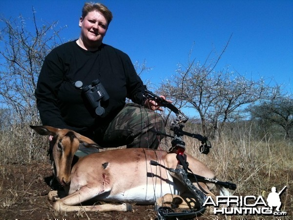 Bowhunting Impala South Africa