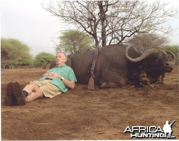 Buffalo hunting in  SA