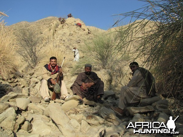 During a 3 days hinking journy for Ibex Hunt Pakistan