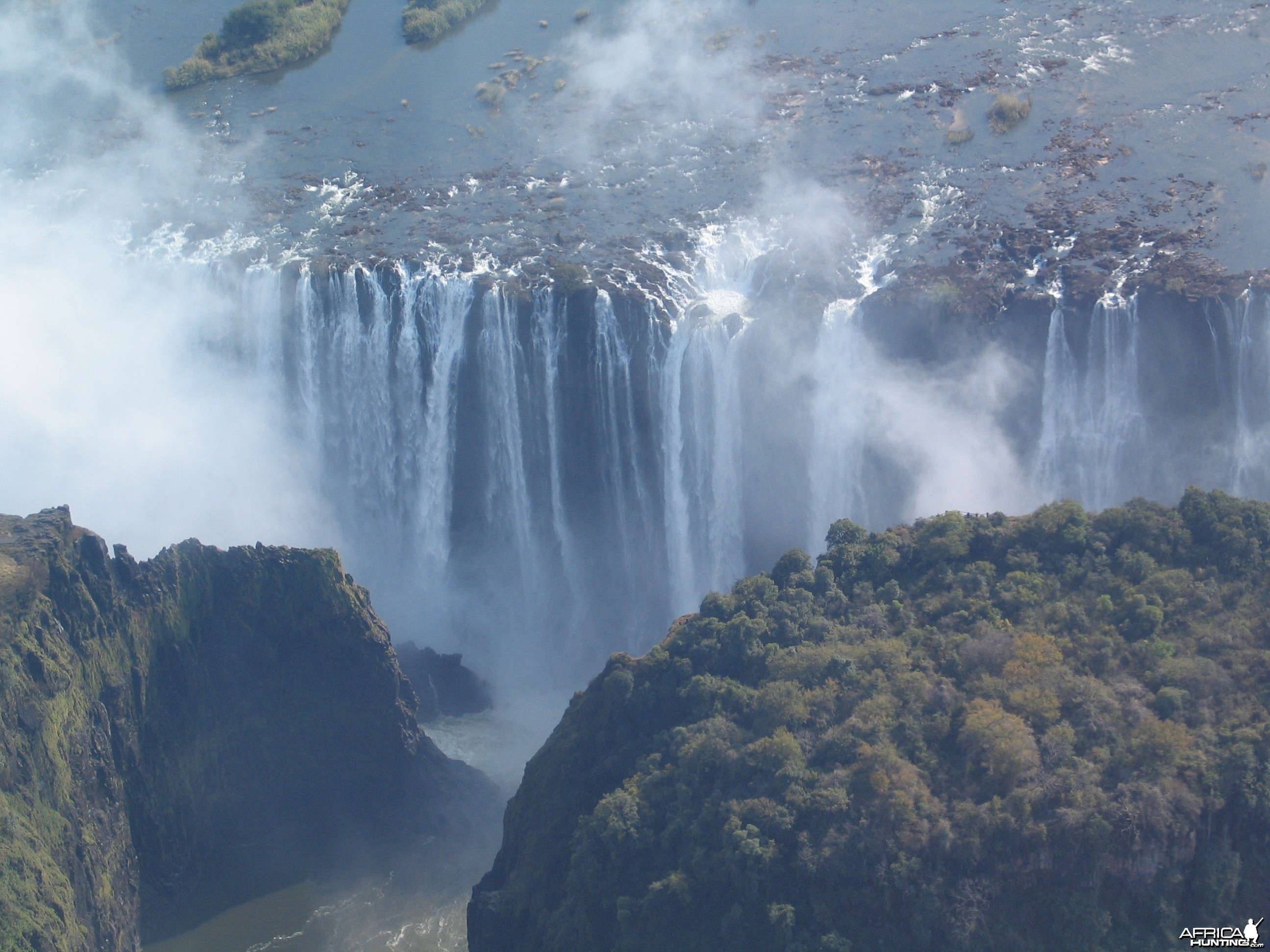 Victoria falls 2009 (Helicopter view)