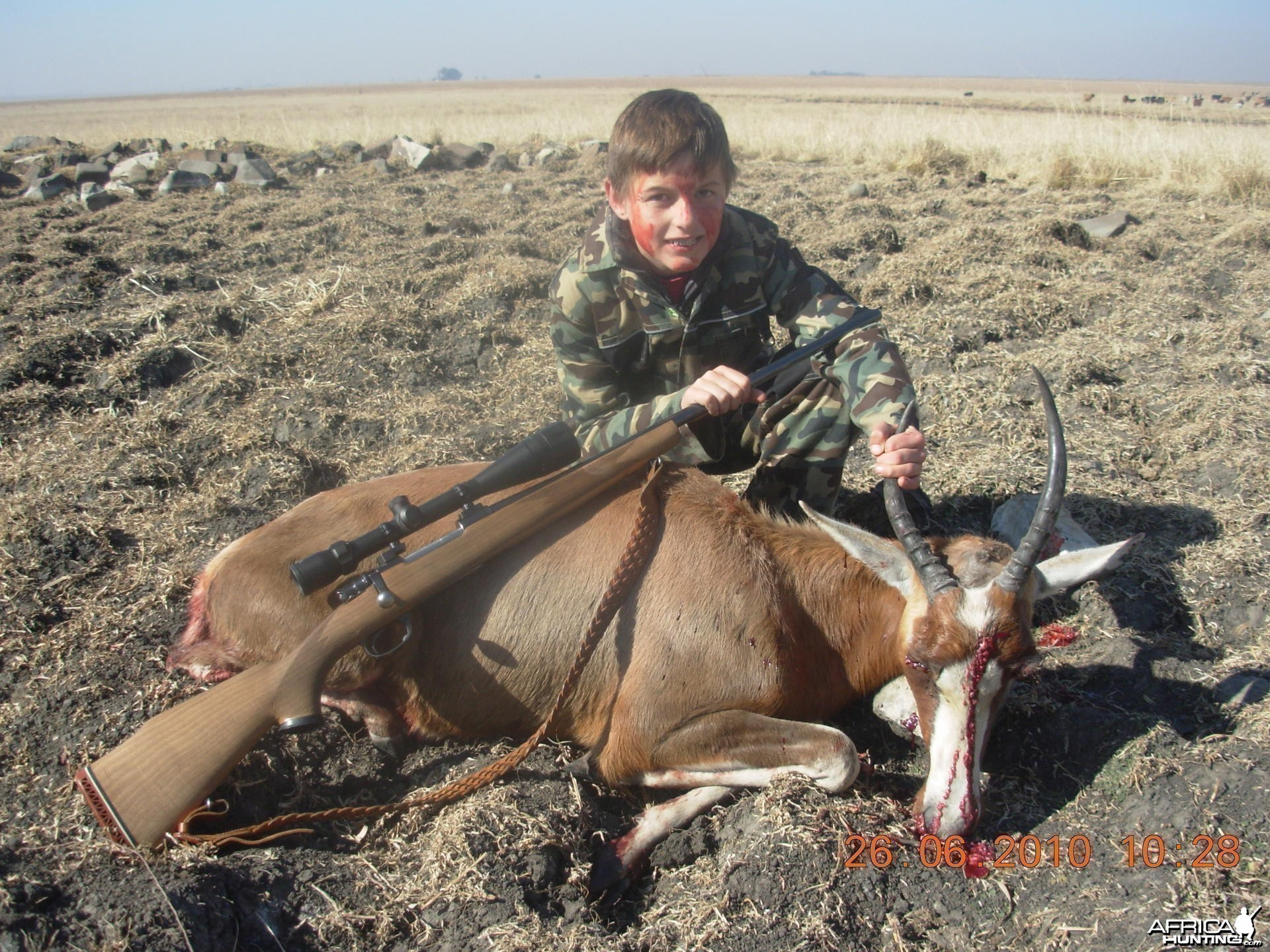 My sons very first hunt