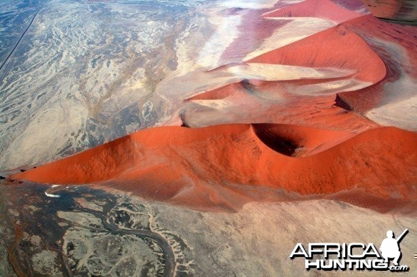 Africa Dunes - View from Above