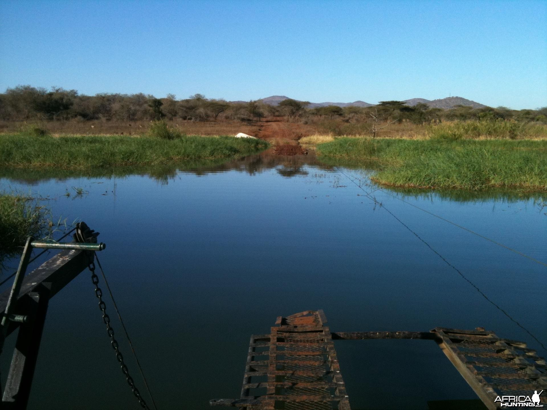 """Ferry"" at Pongola Game Reserve, SA"