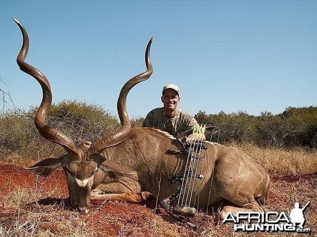 Bowhunt Kudu 59 3/4 on one side and 61 on the other