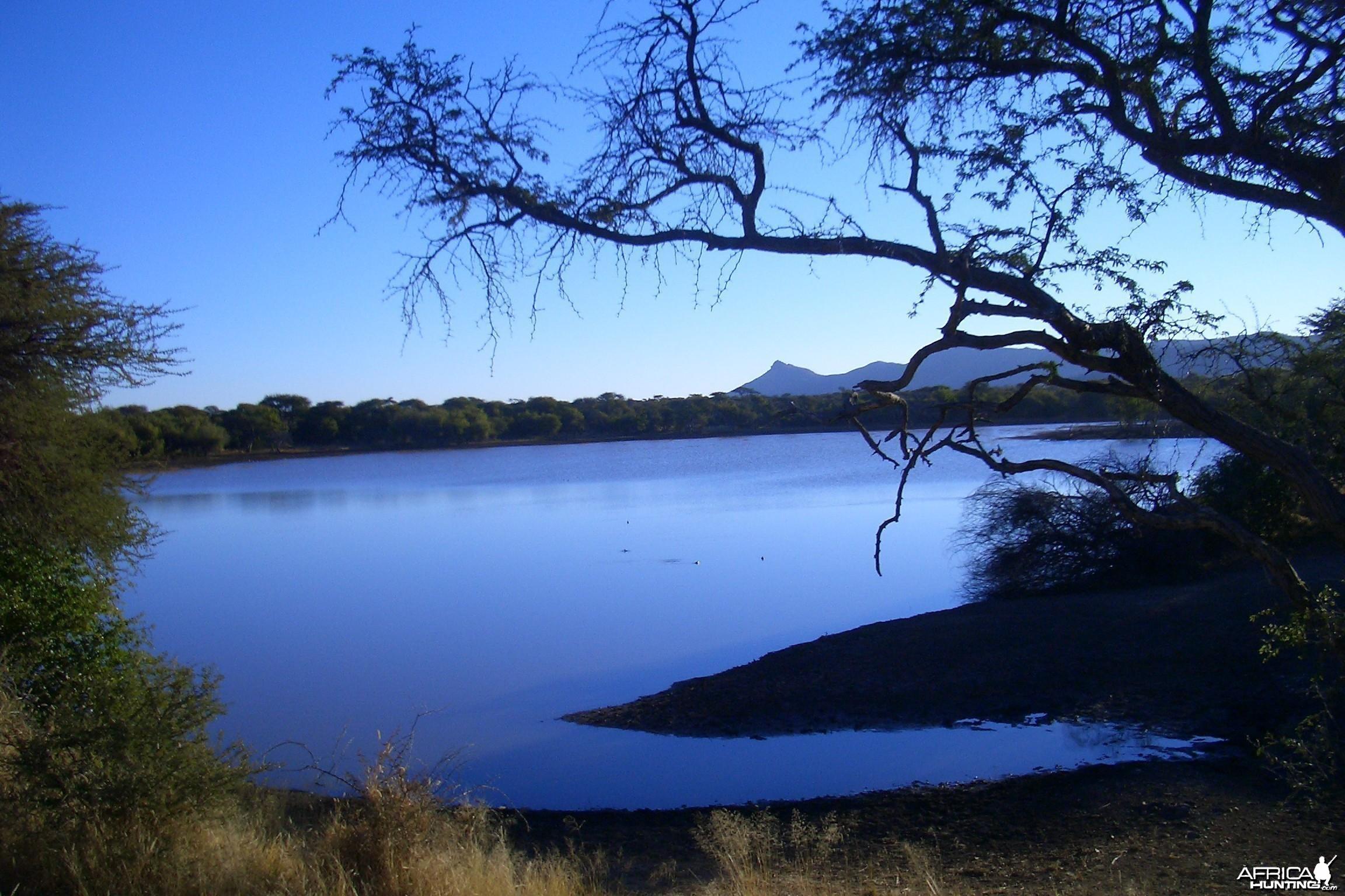 Africa Namibia Waterhole