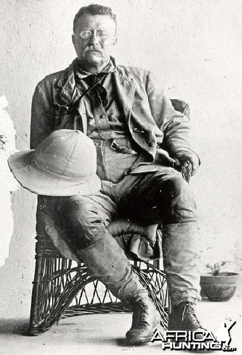 Theodore Roosevelt, the great white hunter