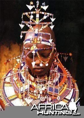 Masai Bride Kenya