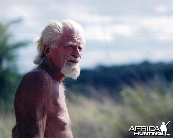 George Adamson in Africa