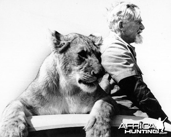 George Adamson and Mara