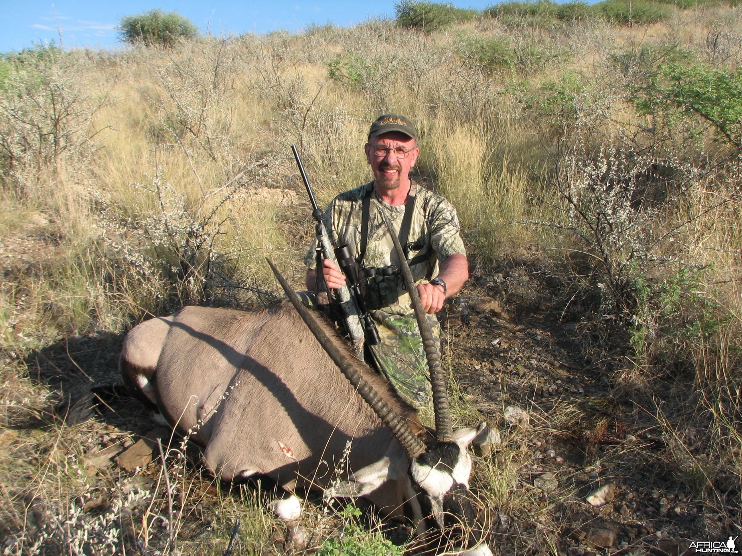Gemsbuck Bull Namibia