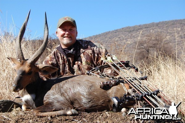 Bushbuck bowhunt in South Africa
