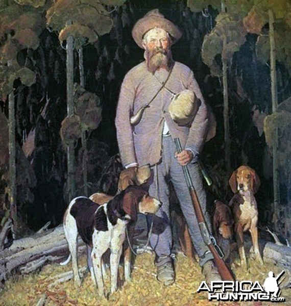 Benjamin Vernon Lilly (1856-1936), American Big Game Hunter