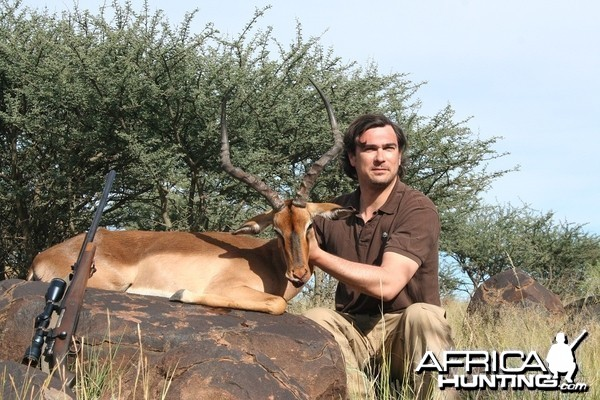 Nice Impala hunted in South Africa