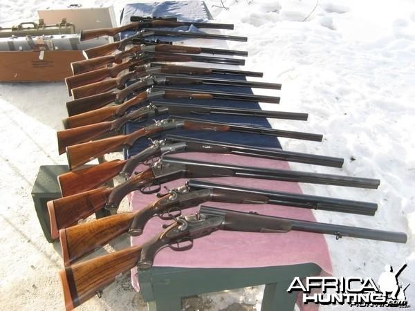 Alaskan Douuble Rifles
